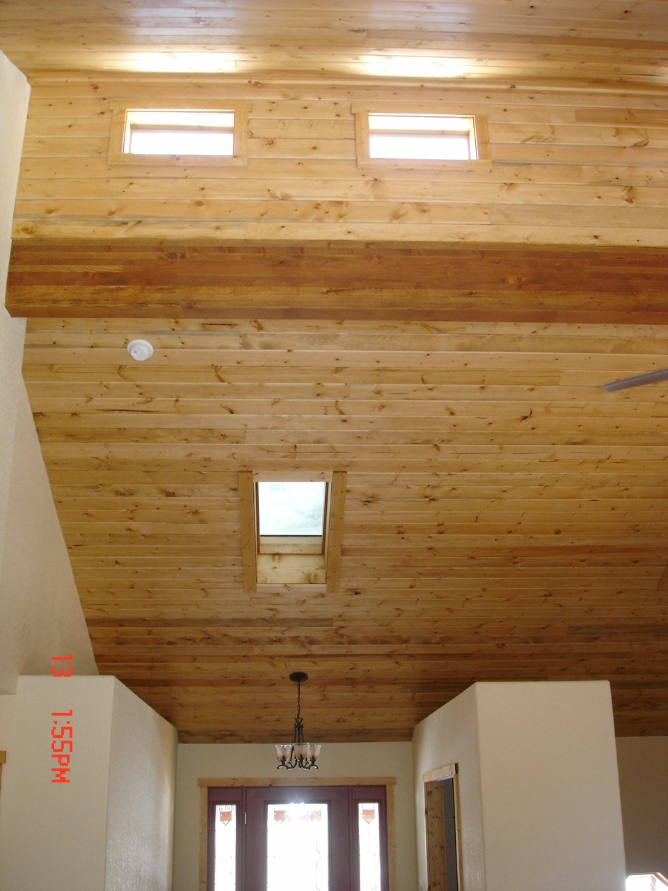 Spectacular clerestory ceiling!