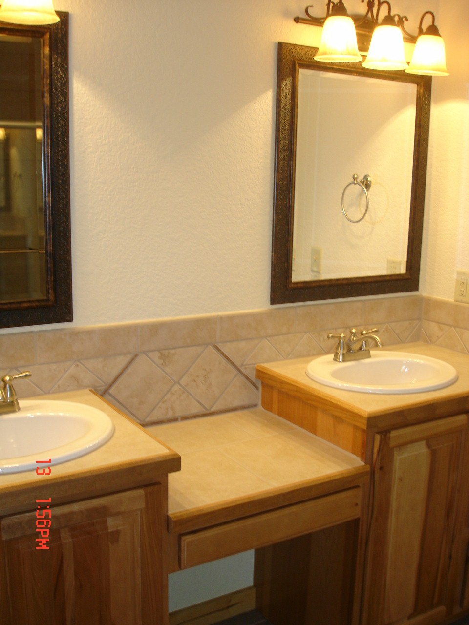 Double sinks in master bath